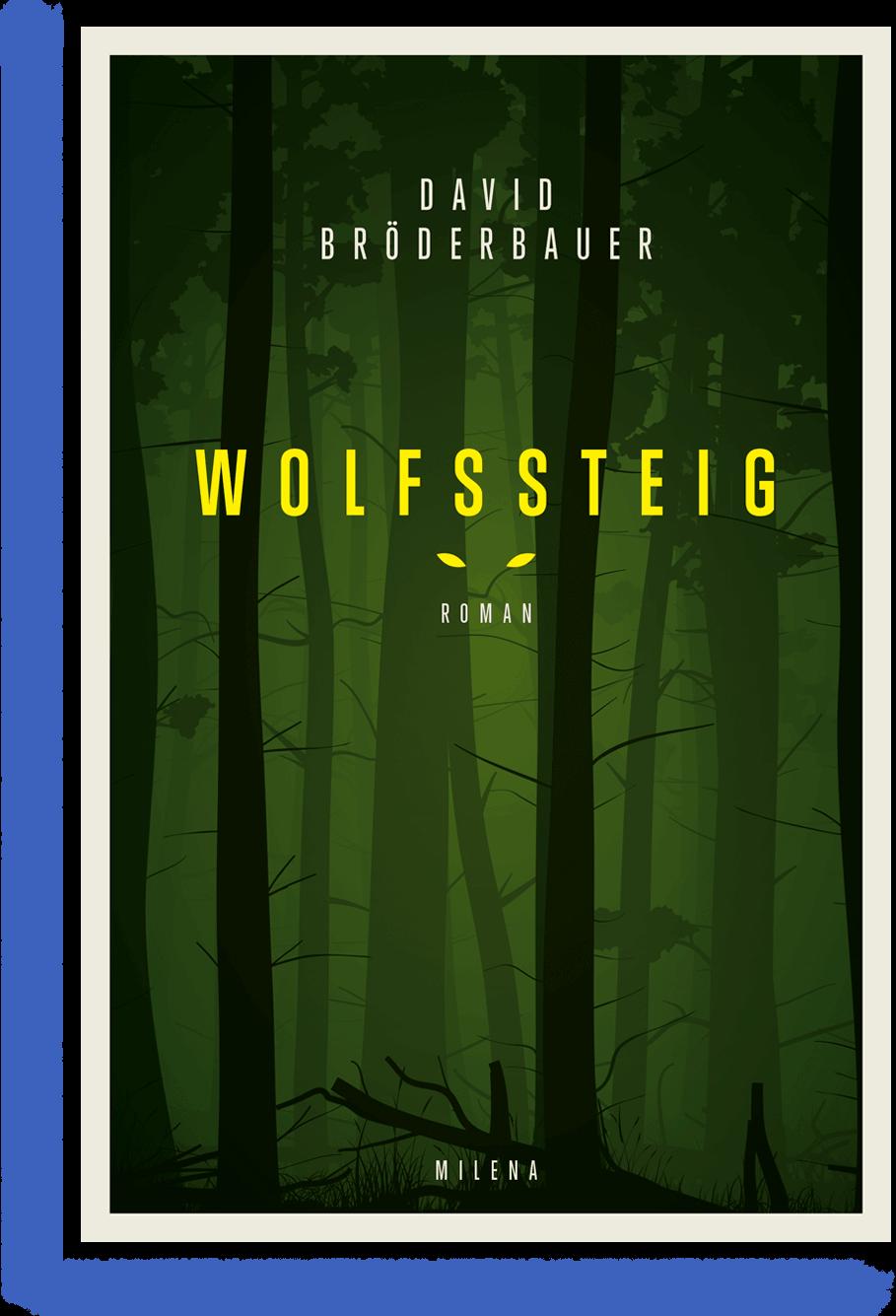Buch cover Wolfssteig